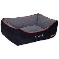 SCRUFFS thermal box bed L 75×60cm černý - Pelíšek pro psy