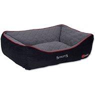 SCRUFFS thermal box bed XL 90×70cm černý - Pelíšek pro psy