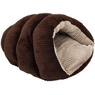 DOG FANTASY pelíšek Comfy2 55×43×25cm tmavě hnědý - Tulipytlík