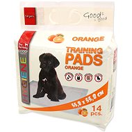 DOG FANTASY Pad, Orange, 55,8 × 55,8cm, 14 pcs - Absorbent pad