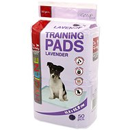 DOG FANTASY Absorbent Pad, Lavender, 55,8 × 55,8cm 50 pcs