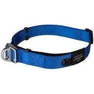 ROGZ obojek safety collar modrý 2,5×42-66cm - Obojek pro psy