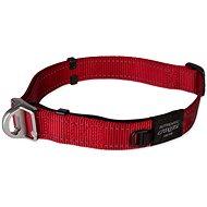 ROGZ obojek safety collar červený 2,5×42-66cm - Obojek pro psy