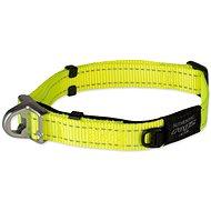 ROGZ obojek safety collar žlutý 2×33-48cm - Obojek pro psy