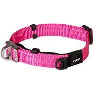 ROGZ obojek safety collar růžový 1,6×27-39cm - Obojek pro psy
