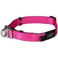 ROGZ obojek safety collar růžový 2×33-48cm - Obojek pro psy
