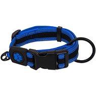 Obojek pro psy ACTIVE obojek fluffy L modrý 3,2×39-59cm - Obojek pro psy