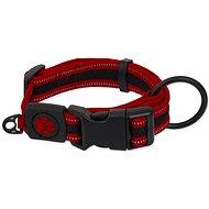 Obojek pro psy ACTIVE obojek fluffy XL červený 3,8×44-70cm - Obojek pro psy