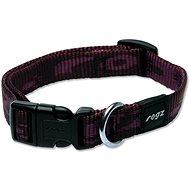 ROGZ obojek Alpinist fialový 1,6×26-40cm - Obojek pro psy