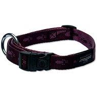 ROGZ obojek Alpinist fialový 2×34-56cm - Obojek pro psy