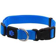 ACTIVE obojek Premium M modrý 2×34-49cm - Obojek pro psy