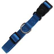DOG FANTASY obojek Classic L modrý 2,5×45-68cm - Obojek pro psy