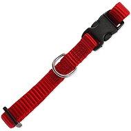 DOG FANTASY obojek Classic XS červený 1×21-30cm - Obojek pro psy