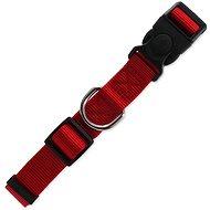 DOG FANTASY obojek Classic L červený 2,5×45-68cm - Obojek pro psy