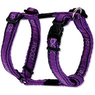 ROGZ postroj Fancy Dress purple chrome 1,1×23-37cm - Postroj pro psa