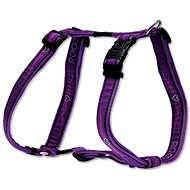 ROGZ postroj Fancy Dress purple chrome 2,5 × 60-100 cm - Postroj pro psa