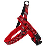 ACTIVE postroj neoprene L/XL červený 3,2×88-100cm - Postroj pro psa