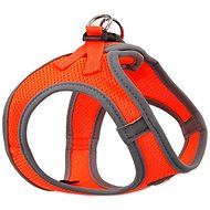 DOG FANTASY Puppy Harness, M Orange 41-46cm - Dog Harness