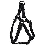 ACTIVE postroj premium M černý 2×53-77cm - Postroj pro psa