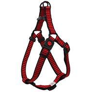 ACTIVE postroj premium M červený 2×53-77cm - Postroj pro psa