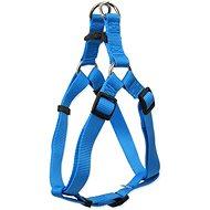 DOG FANTASY postroj classic XL modrý 3,8×75-110cm - Postroj pro psa