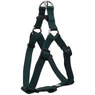 DOG FANTASY postroj classic L zelený 2,5×65-99cm - Postroj pro psa