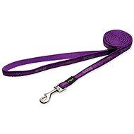 ROGZ vodítko Fancy Dress purple chrome 2,5×180cm - Vodítko pro psa