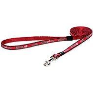 ROGZ vodítko Fancy Dress red bone - Vodítko pro psa