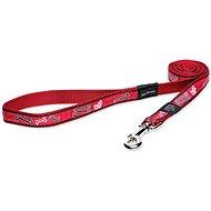 ROGZ vodítko Fancy Dress red bone 2×140cm - Vodítko pro psa