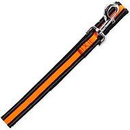 DOG FANTASY vodítko neoprene M/L oranžové 2,5×120cm