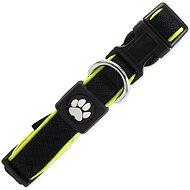 ACTIVE Obojek Fluffy reflective S černý 2×28-40cm - Obojek pro psy