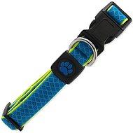 ACTIVE Obojek Fluffy reflective M modrý 2,5×35-51cm - Obojek pro psy