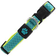 ACTIVE Fluffy reflective collar S turquoise 2 × 28-40 cm - Dog Collar