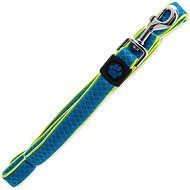 ACTIVE vodítko Fluffy reflective S modré 2×120cm - Vodítko pro psa