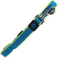 ACTIVE vodítko Fluffy reflective M modré 2,5×120cm - Vodítko pro psa