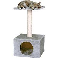 MAGIC CAT odpočívadlo Hedvika 31×31×57cm šedé - Škrabadlo pro kočky
