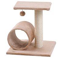 MAGIC CAT odpočívadlo Helen 35×40×54cm béžové - Škrabadlo pro kočky
