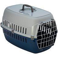 DOG FANTASY přepravka Carrier 58×35×37cm modrá - Přepravka pro psa