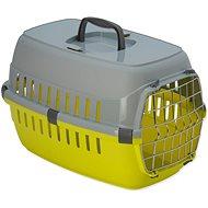 DOG FANTASY přepravka Carrier 48,5×32,3×30,1cm žlutá - Přepravka pro psa