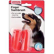 Beaphar Dog-A-Dent Toothbrush on Finger - Dog Toothbrush