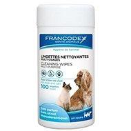 Francodex ubrousky víceúčelové pes, kočka 100ks - Hygienické ubrousky pro psy