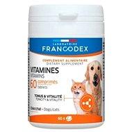 Francodex Vitamins pes, kočka 60tab. - Doplněk stravy pro psy