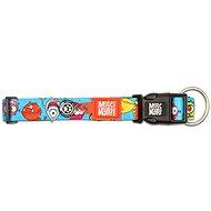 Max & Molly Smart ID Collar half-choke, Monsters, size L - Dog Collar