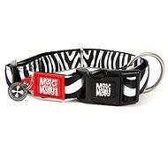 Max & Molly Smart ID obojek polostahovací, Zebra, Velikost M