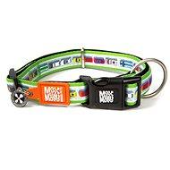 Max & Molly Smart ID obojek polostahovací, Traffic Jam, Velikost M - Obojek pro psy
