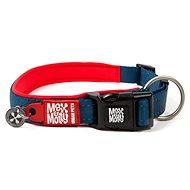Max & Molly Smart ID Collar semi-retractable, Matrix Red, Size M - Dog Collar