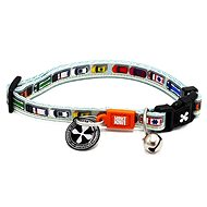 Max & Molly Smart ID Cat Collar, Traffic Jam, One Size - Cat Collar