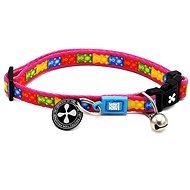 Max & Molly Smart ID Cat Collar, Jelly Bears, one size - Cat Collar