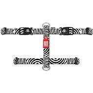 Max & Molly H Postroj, Zebra, Velikost S - Postroj pro psa