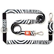 Max & Molly Vodítko přepínací, Zebra, Velikost L - Vodítko pro psa